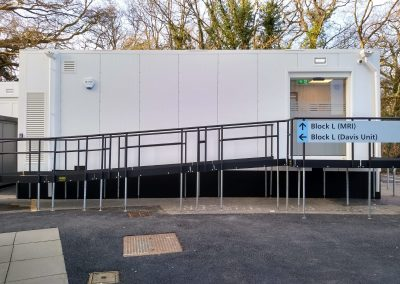Installation of a New Modular MRI Unit at St Helier Hospital