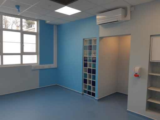 Refurbishment of the Uro-Gynae Department at Leatherhead Hospital