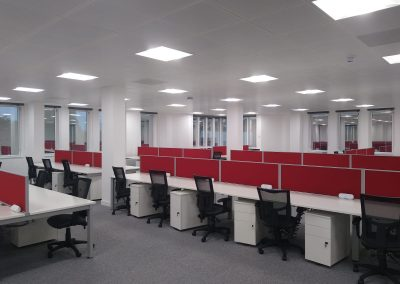 CAT B Fit out to Epsom High Street Horizon Building