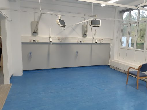 Ward Refurbishment to Queen Mary's Hospital for Children at St Helier Hospital