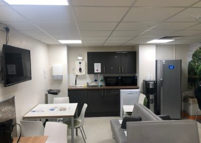 Staffroom Refurbishments at Frimley Park Hospital