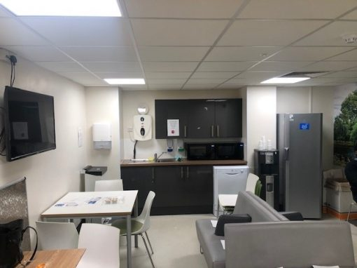 Staffroom Refurbishments at Frimley Park Hospital